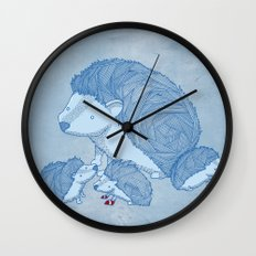 When he was young Wall Clock