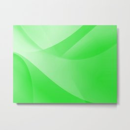Green Wallpaper Metal Print