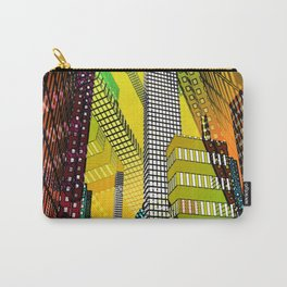 the colored city -4- Carry-All Pouch
