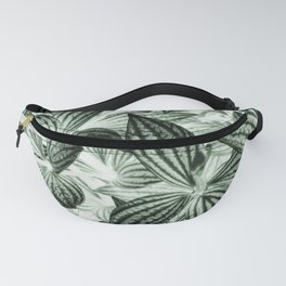 Leaves Photography | Green Tropical Plant Art | Nature | Wild | Earth Fanny Pack
