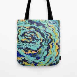 Abstract Labyrinth Tote Bag