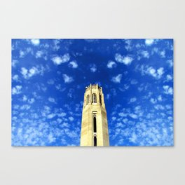 Tower and Blue Sky Canvas Print