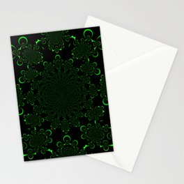 A Kollision of Colliding Tubes Stationery Cards