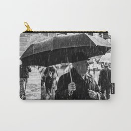 It rains in Times Square Carry-All Pouch