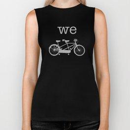 We-Tandem Grey Biker Tank