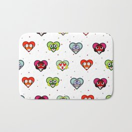 Space Froggos Love You! Bath Mat