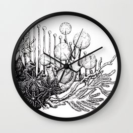 sea plants Wall Clock