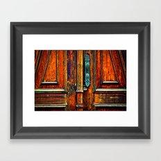Doorways V Framed Art Print
