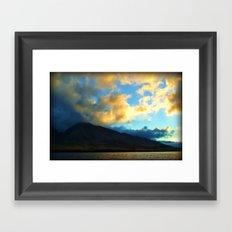 Show Of Light Framed Art Print