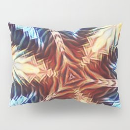 tri - Fire Pillow Sham