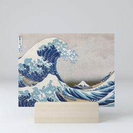 Under the Wave off Kanagawa - The Great Wave - Katsushika Hokusai Mini Art Print