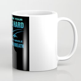 Swimming Holding Your Breath Coffee Mug