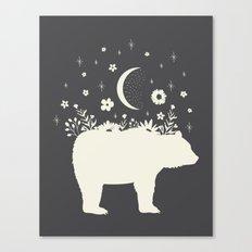 Medicine Bear Canvas Print