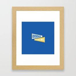 Riverdale High Vixens Framed Art Print