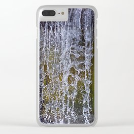 Frozen Water Clear iPhone Case
