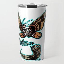 Mothra Kaiju Print FC Travel Mug