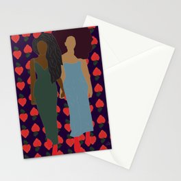 Strawberry Bawse Babes Stationery Cards