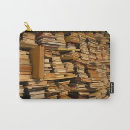 Books, books, books | Buecher, Buecher, Buecher Carry-All Pouch