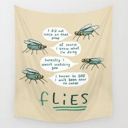 fLIES Wall Tapestry