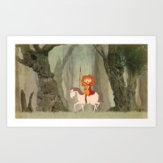 Boudica Art Print