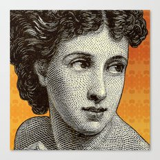 Seductress Orange Canvas Print