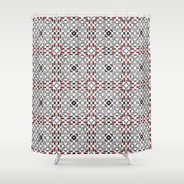 Christmas pattern 12 Shower Curtain