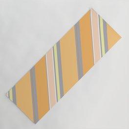 Orange Cream Yoga Mat
