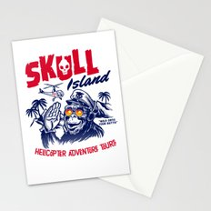 Skull Island Helicopter Adventure Tours Stationery Cards