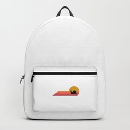 Snail Retro Vintage Style Gift Idea Backpack