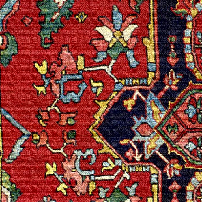 Heriz  Antique Persian Rug Print Leggings