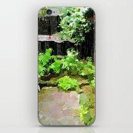 Green iPhone Skin