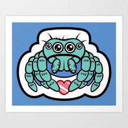 Kawaii Spider! Art Print
