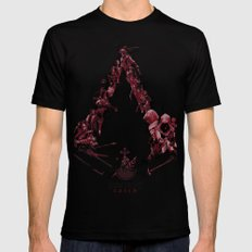 Assassin's Creed Saga Black Mens Fitted Tee MEDIUM