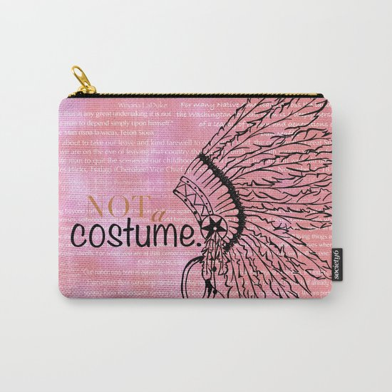 Not a Costume Carry-All Pouch