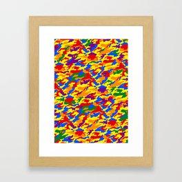 Homouflage Gay Stealth Camouflage Framed Art Print
