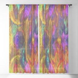 Hallucination Sheer Curtain