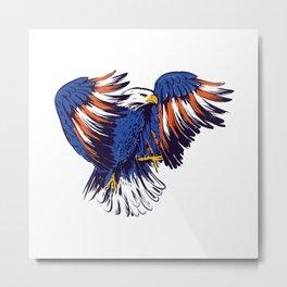 American Eagle Aesthetic Design Metal Print