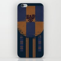 ravenclaw iPhone & iPod Skins featuring ravenclaw crest by nisimalotse