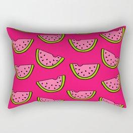 Pink Watermelon Rectangular Pillow