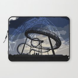 Roller Coaster Laptop Sleeve