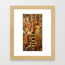 danae Framed Art Print