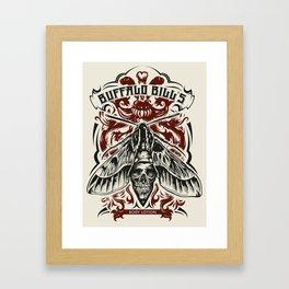 Buffalo Bill Lotion Poster Framed Art Print