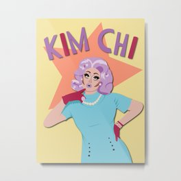 Kim Chi Metal Print