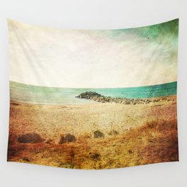 Beach in southern France - summer memories Wall Tapestry