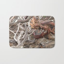 TEXTURES - Manzanita in Drought Conditions #3 Bath Mat