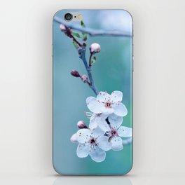 hope springs eternally green iPhone Skin