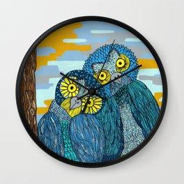 Otto y Margó Wall Clock