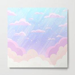 Pastel Heaven Metal Print