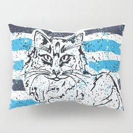 Cat stripes Pillow Sham