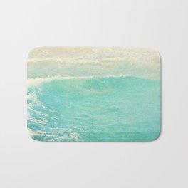 beach ocean wave. Surge. Hermosa Beach photograph Bath Mat